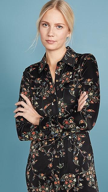Tory Burch Printed Jersey Shirtdress
