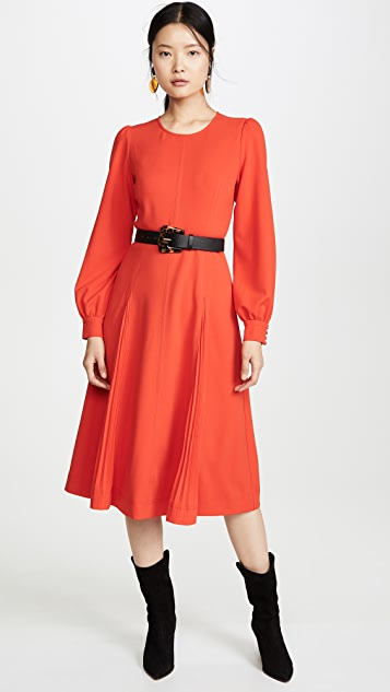 Tory Burch Dress Knit Crepe Dress