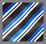 蓝色斜裁条纹