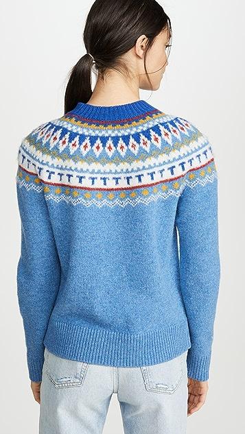 Tory Burch Fairisle Sweater