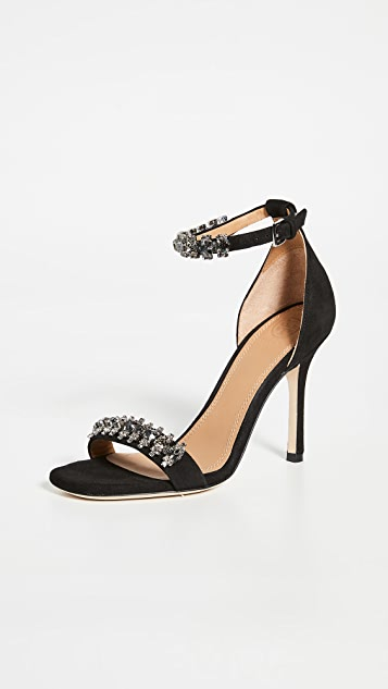 Tory Burch 100mm Penelope Embellished Sandals