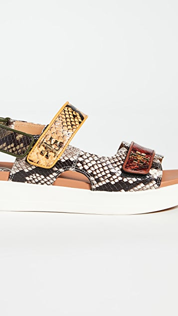 Tory Burch Спортивные сандалии Kira