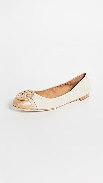 Tory Burch Minnie Cap Toe Ballet Flats