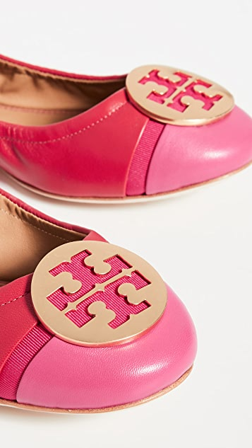 Tory Burch Minnie 包头芭蕾平底鞋