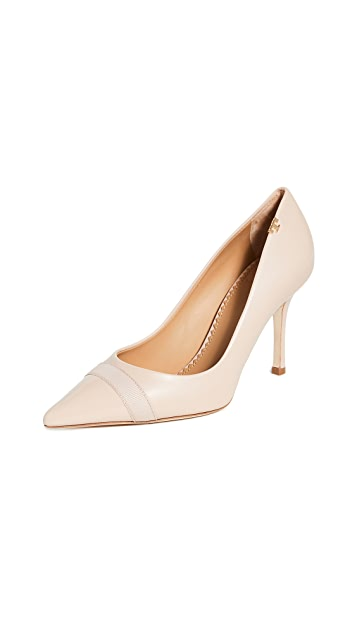 Tory Burch Penelope Cap Toe Pumps 85mm