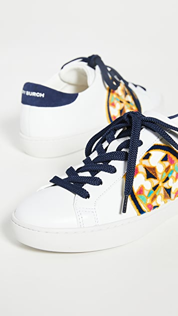 Tory Burch T-Logo Fil Coupe Sneakers