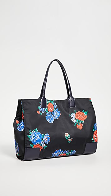 Tory Burch Ella Printed Tote Bag
