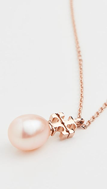 Tory Burch Kira Pearl Pendant Necklace