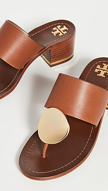 Tory Burch 45mm Patos Disk Sandals