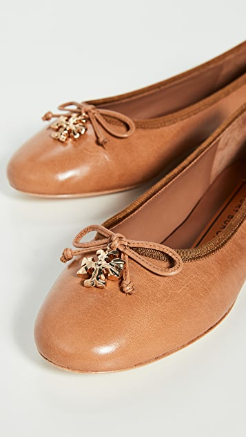 Tory Burch Tory Charm 平底芭蕾舞鞋