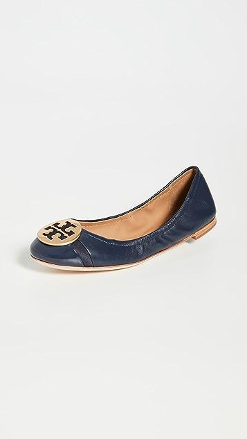 Tory Burch Minnie 包头芭蕾平底鞋