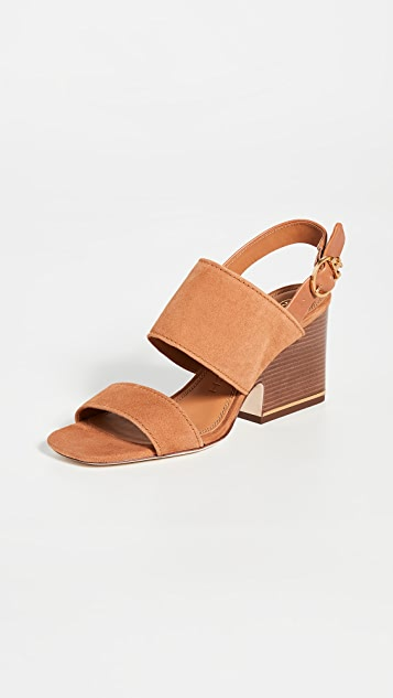 Tory Burch Selby 75mm Block Heel Sandals