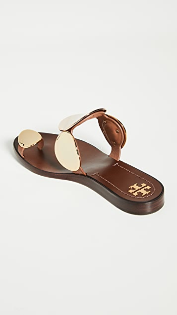 Tory Burch Patos Multi Disk 凉鞋