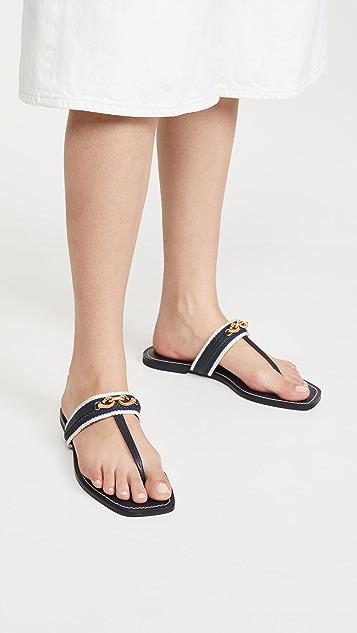 Tory Burch Jessa Thong Sandals