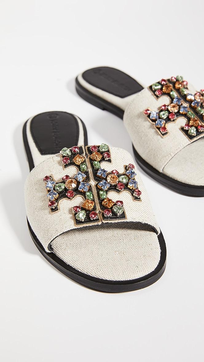 Tory Burch Ines Embellished Slides Shopbop