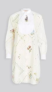Tory Burch 方巾式长衫式连衣裙