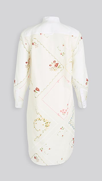 Tory Burch Handkerchief Tunic Dress