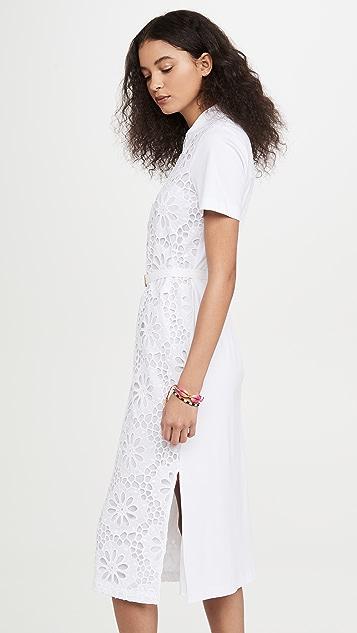 Tory Burch 蕾丝马球衫式连衣裙