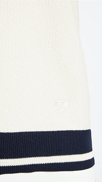 Tory Burch 网眼织物马球衫