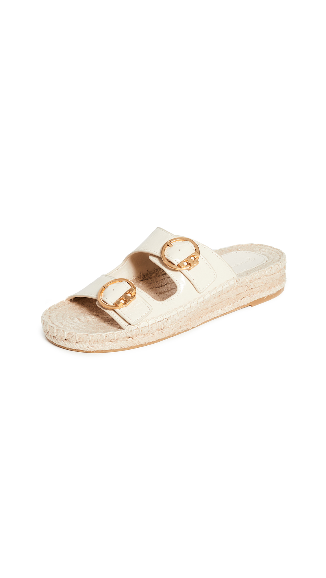 Tory Burch Selby Two-Band Espadrille Slides