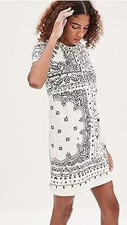 Tory Burch Bandanna Print T-Shirt Dress