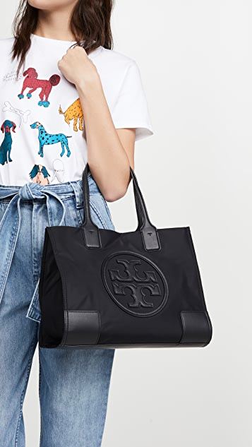 Tory Burch Nylon Mini Ella Tote