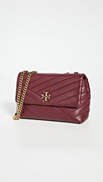 Tory Burch Kira Chevron Small Convertible Shoulder Bag