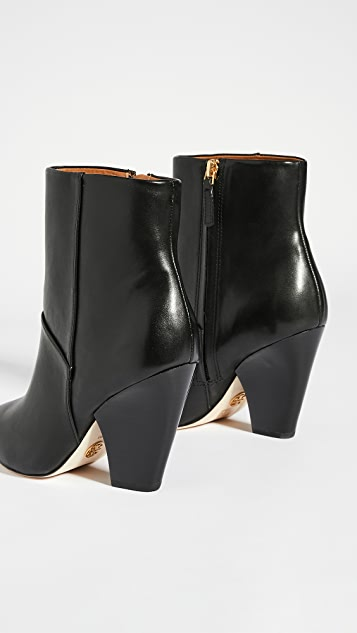 Tory Burch Lila 90mm Zip Up Ankle Boots