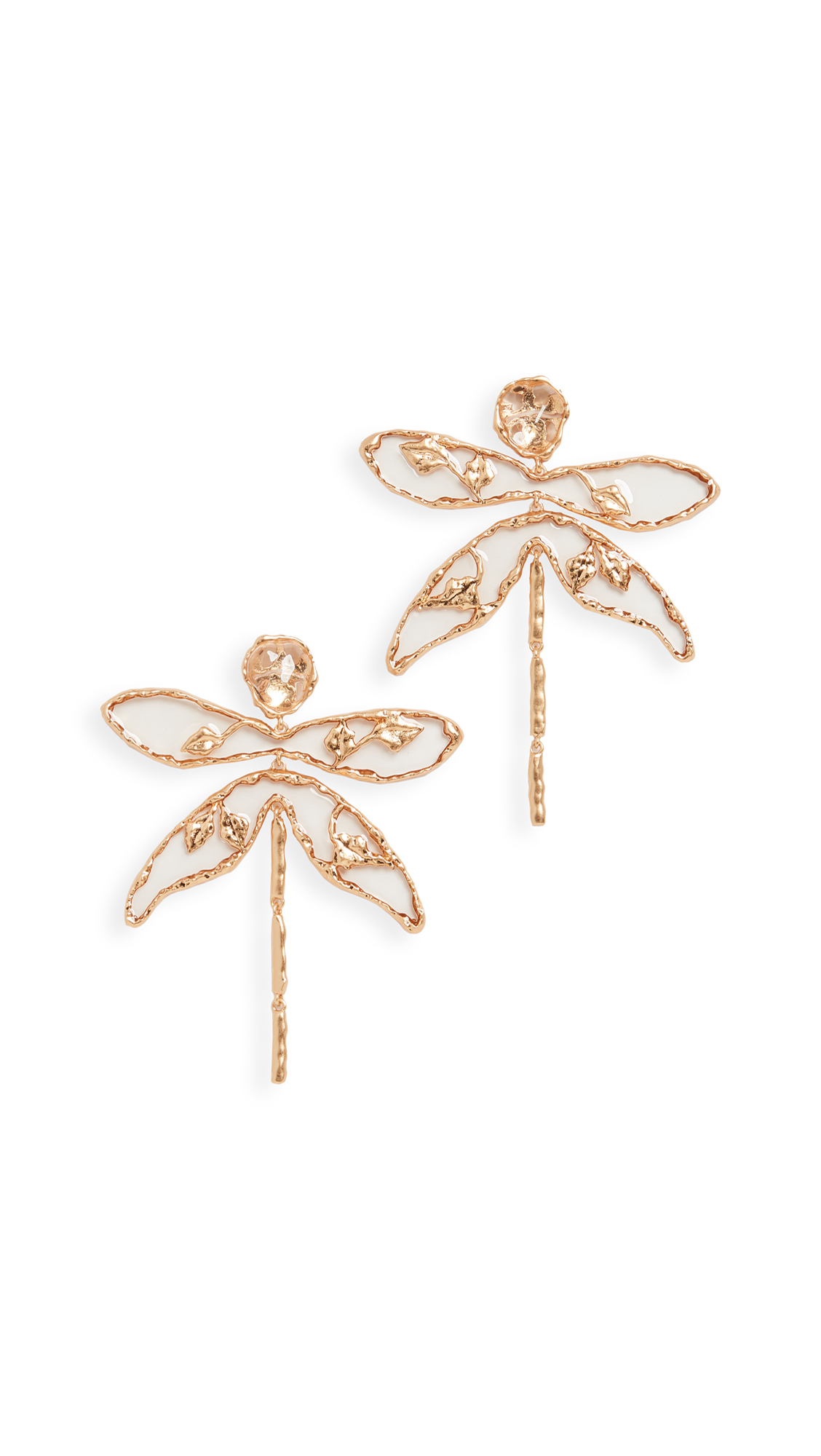 Tory Burch Dragonfly Earrings