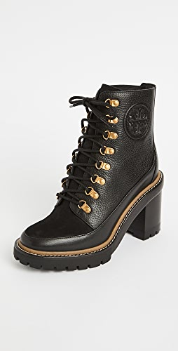 Tory Burch - 90mm Miller Lug Sole Booties