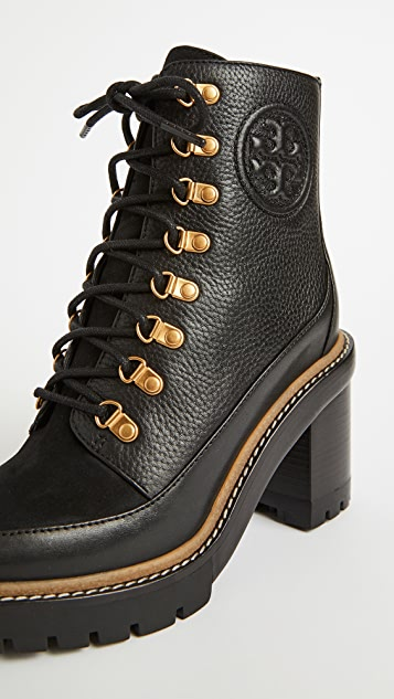 Tory Burch 90mm Miller Lug Sole Booties