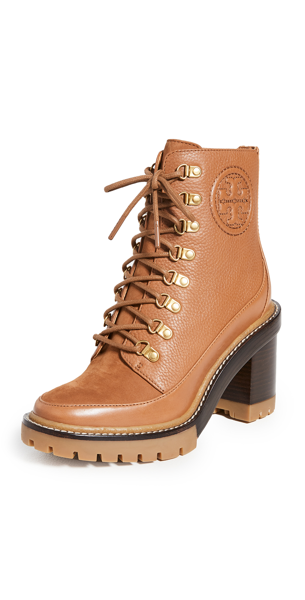 Tory Burch Miller 90mm Lug Sole Booties