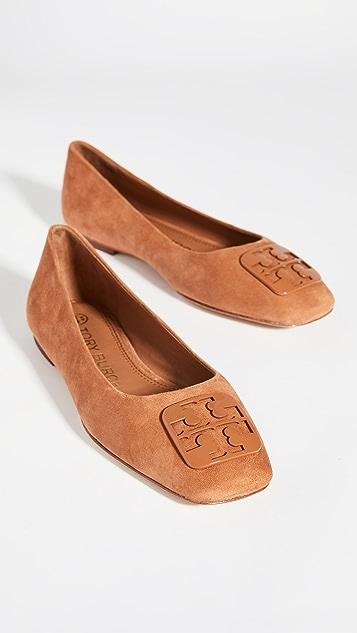 Tory Burch 汤丽柏琦 Georgia 芭蕾平底鞋