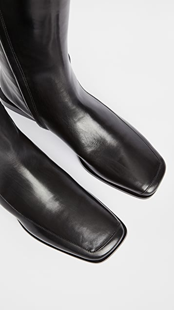Tory Burch Square Toe 20mm Boots