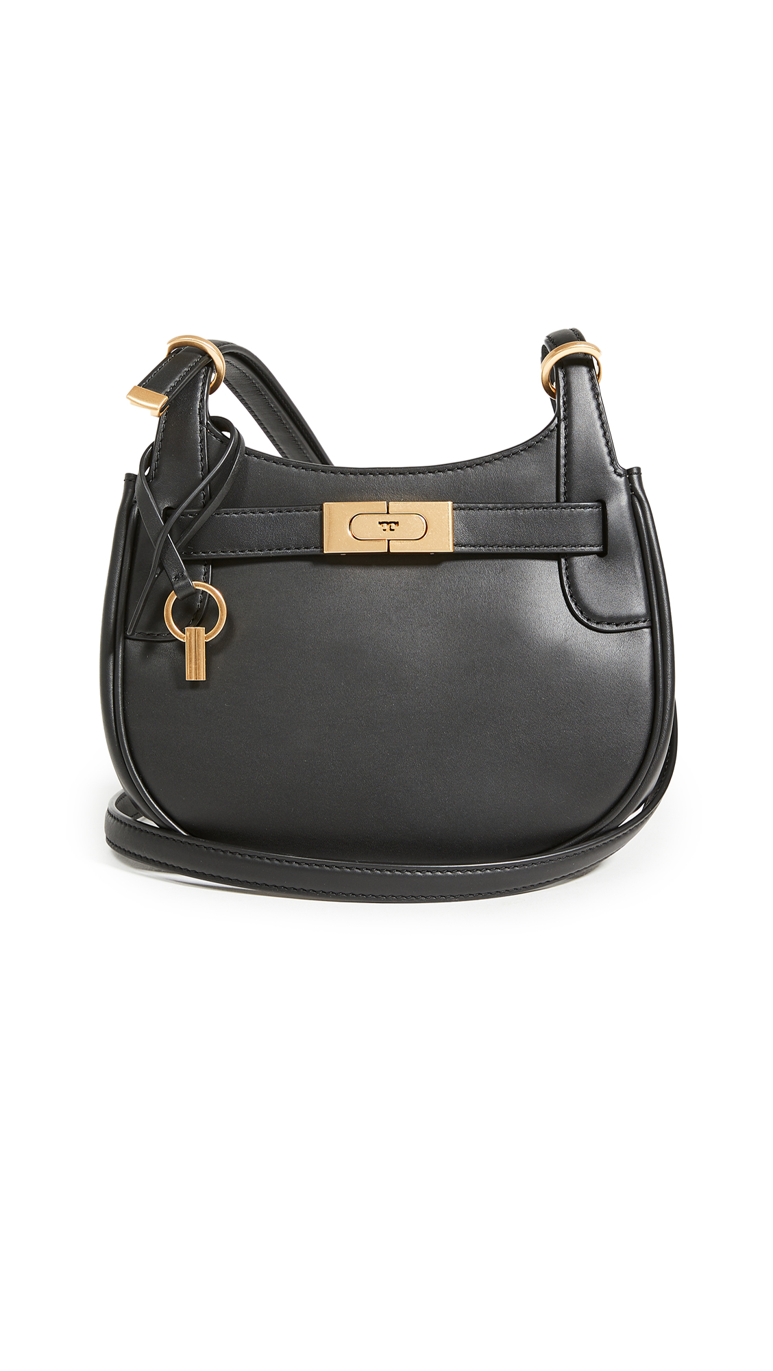 Tory Burch Lee Radziwill Small Saddlebag