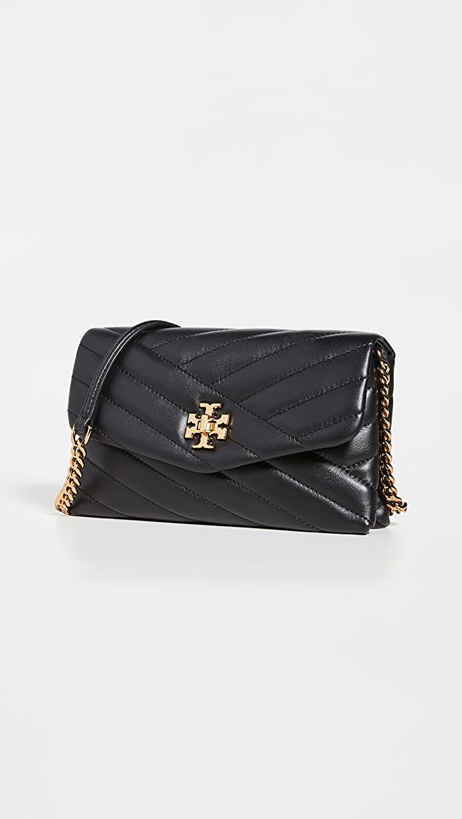 Tory Burch Kira Chevron Chain Wallet Bag | SHOPBOP