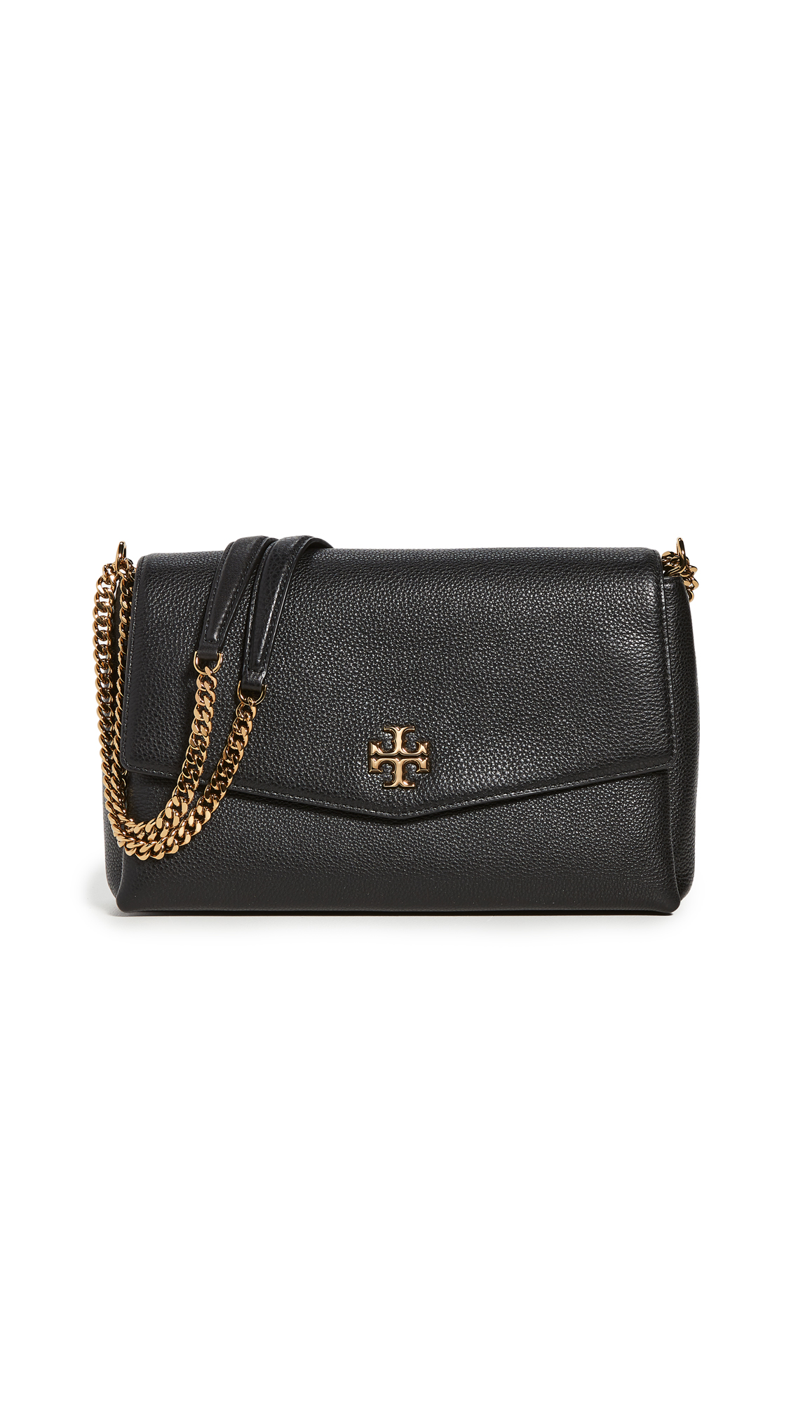 Tory Burch Kira Pebbled Convertible Shoulder Bag