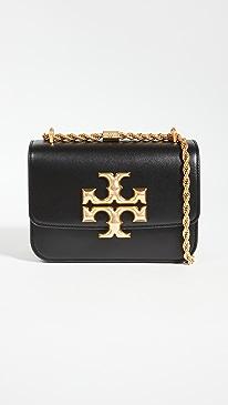 토리버치 Tory Burch Eleanor Small Convertible Shoulder Bag,Black