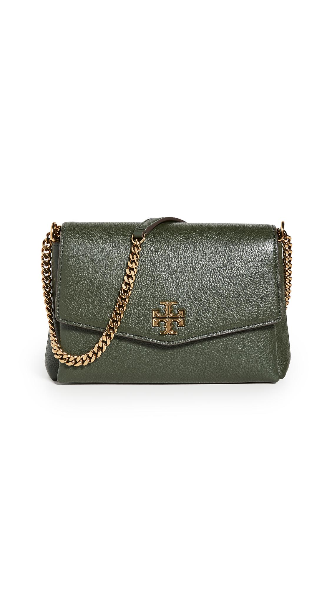 Tory Burch Kira Pebbled Small Convertible Shoulder Bag