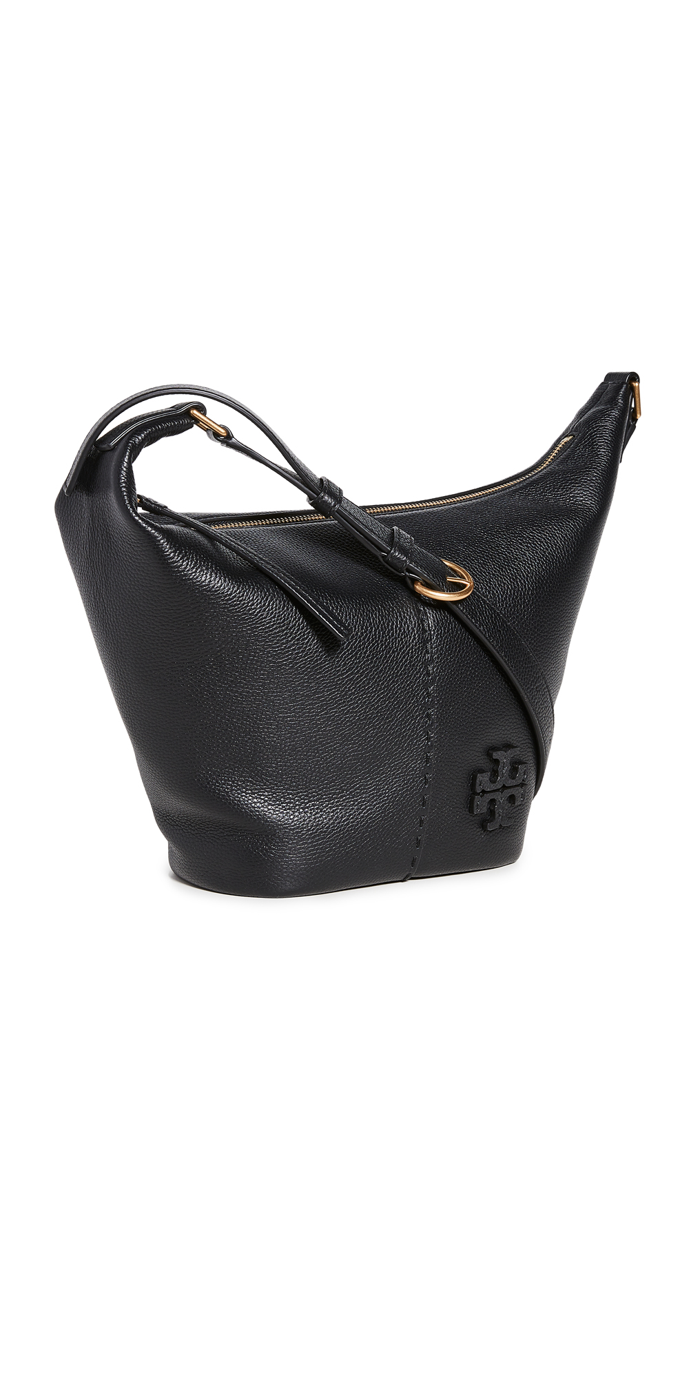 Tory Burch Mcgraw Small Zip Bucket Bag