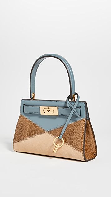 Tory Burch Lee Radziwill Patchwork Petite Bag