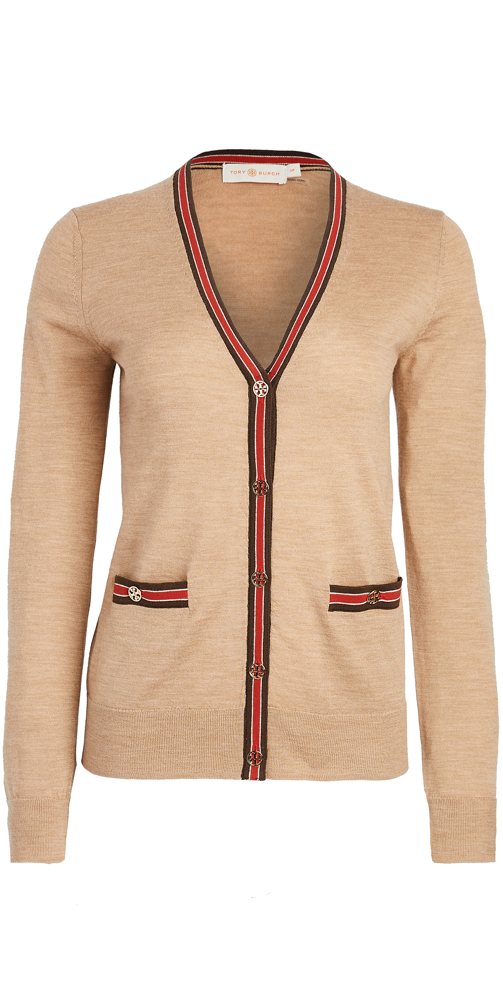 Tory Burch Colorblock Madeline Cardigan