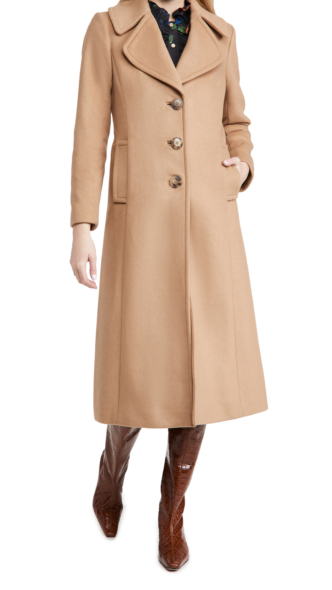 Tory Burch Wool Cashmere Coat