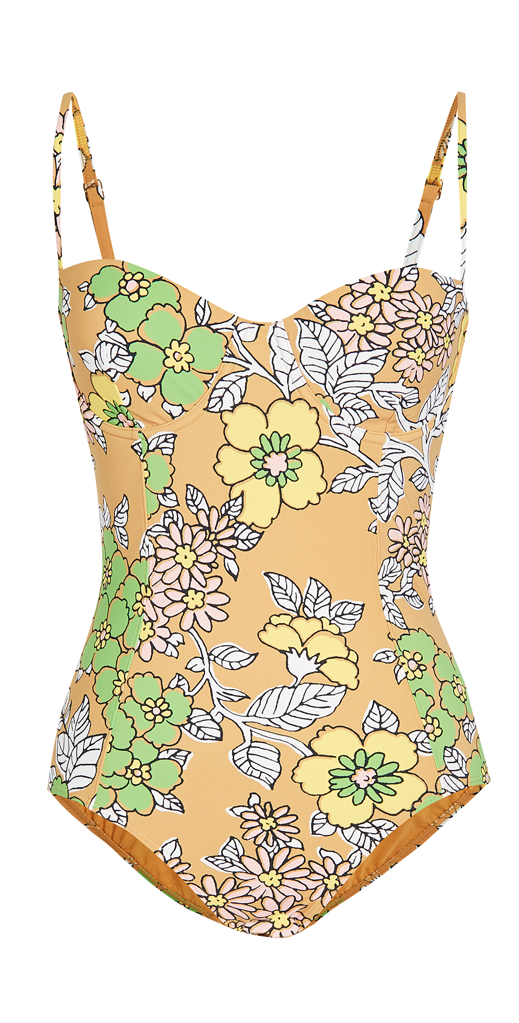Tory Burch Printed Underwire One Piece