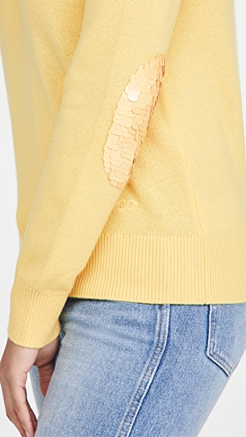 Tory Burch Cashmere Sweater With Sequins
