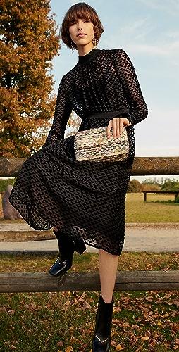 Tory Burch - Velvet Devore Dress