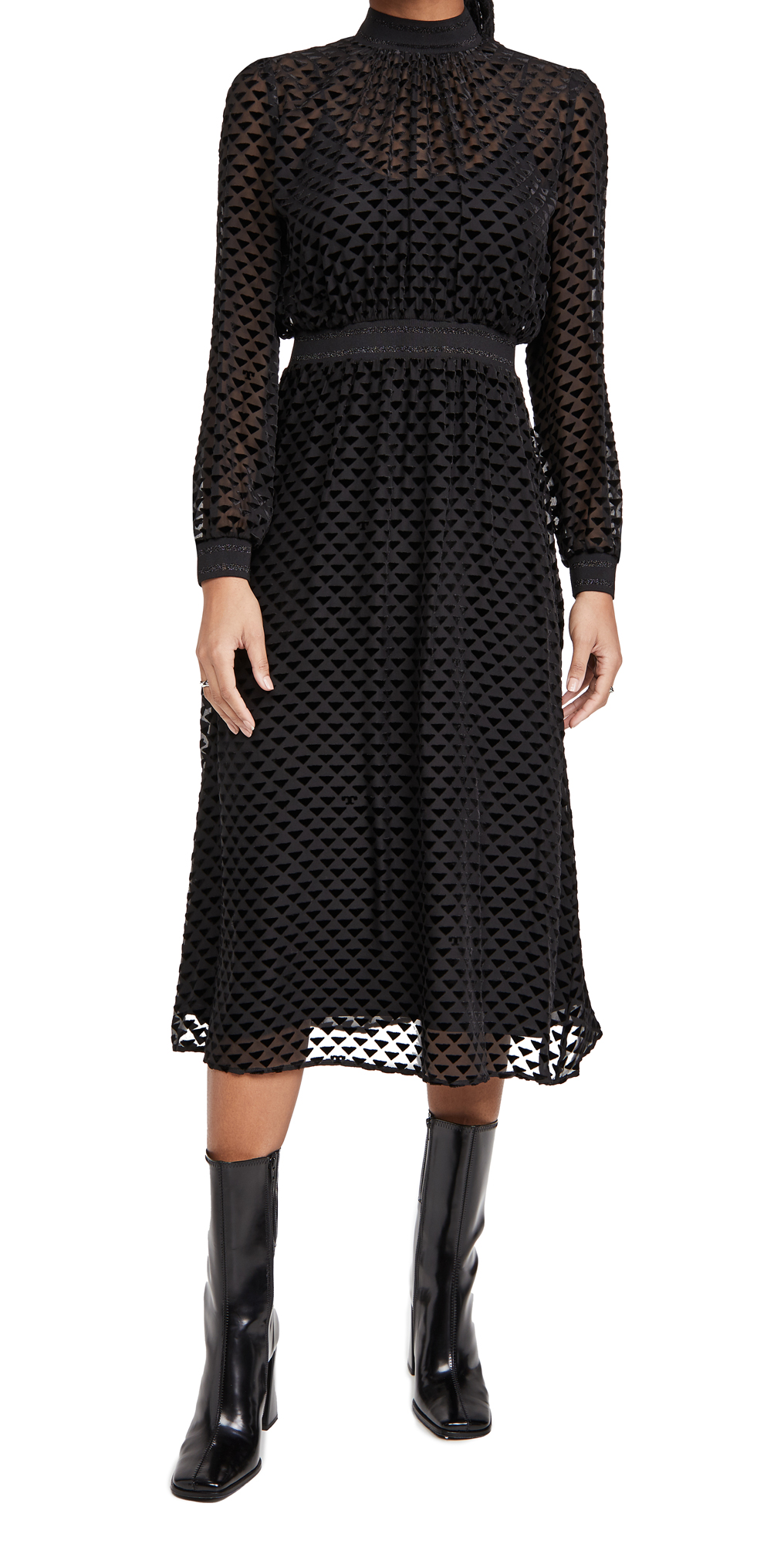 Tory Burch Velvet Devore Dress