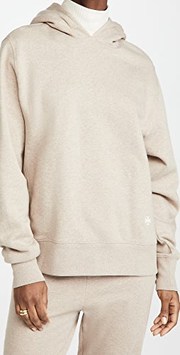 Tory Burch - French Terry Melange Hoodie