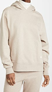 Tory Burch French Terry Melange Hoodie