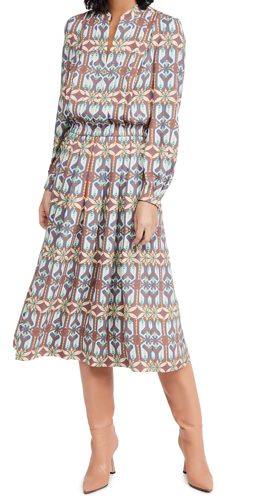 Tory Burch Garden Maze Shirtdress